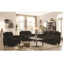 Northend Chocolate Two-piece Living Room Set