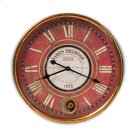 Baxton Studio Alaire Vintage Style Antique Gold Finished Wall Clock Product Image