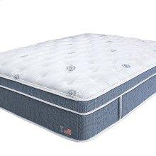 California King-Size Hydrangea Euro Pillow Top Mattress
