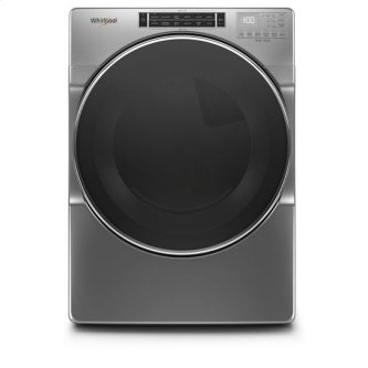 Whirlpool(R) 7.4 cu. ft. Front Load Gas Dryer with Steam Cycles - Chrome Shadow