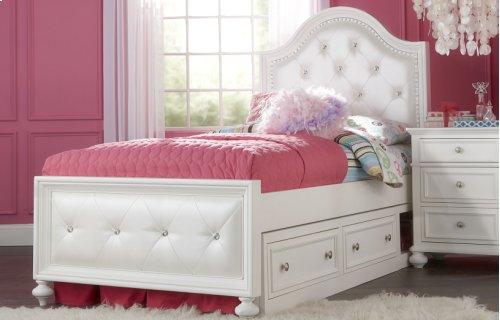 Madison Upholstered Bed Full