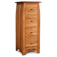 Aspen File Cabinet with Inlay, 4-Drawer Product Image