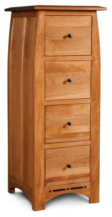 Aspen File Cabinet with Inlay, 4-Drawer