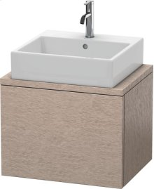 Delos Vanity Unit For Console Compact, Cashmere Oak