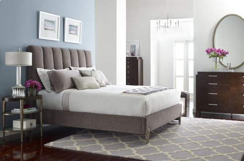 Leah Upholstered Bed (King)