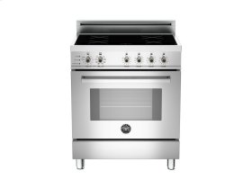 30 4-Induction Zones, Electric Self-Clean oven Stainless