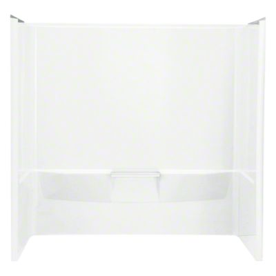 "Performa™, Series 7104, 60"" x 30"" x 59-1/4"" Bath/Shower - Wall Set - White"