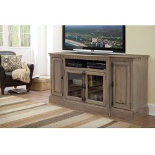 68 Inch Console - Antique Mist Finish