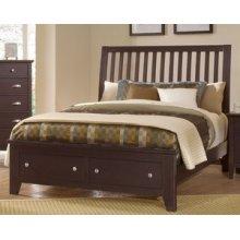 Slat Storage Bed