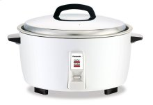 17 Cup Commercial Automatic Rice Cooker with Steam Basket - SR-GA321H - White