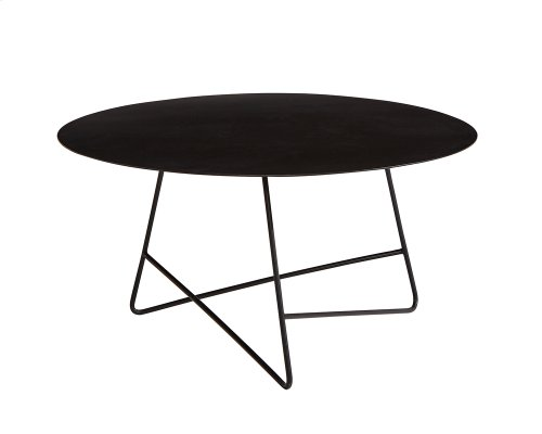 Carbon Traverse Round Coffee Table