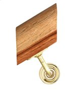 Handrail Bracket w/Small Traditional Rose Product Image