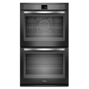 Gold(R) 10 cu. ft. Double Wall Oven with True Convection Cooking - BLACK ICE