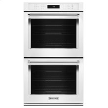"27"" Double Wall Oven with Even-Heat True Convection - White"