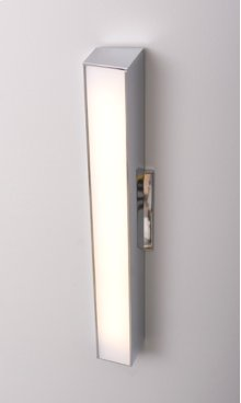 "LED AXIS 18"" LINEAR SCONCE - BRUSHED NICKEL"