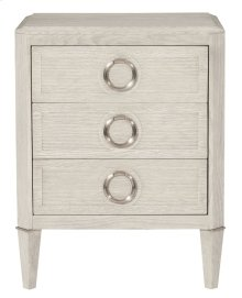 Domaine Blanc Nightstand in Domaine Blanc Dove White