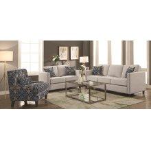 Coltrane Beige Two-piece Living Room Set