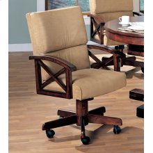 Marietta Casual Tobacco Game Chair