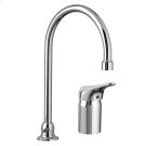 Monterrey Single Control Gooseneck Kitchen Faucet with Remote Valve - Polished Chrome Product Image