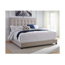 Red Hot Buy- Be Happy! Queen Upholstered Bed