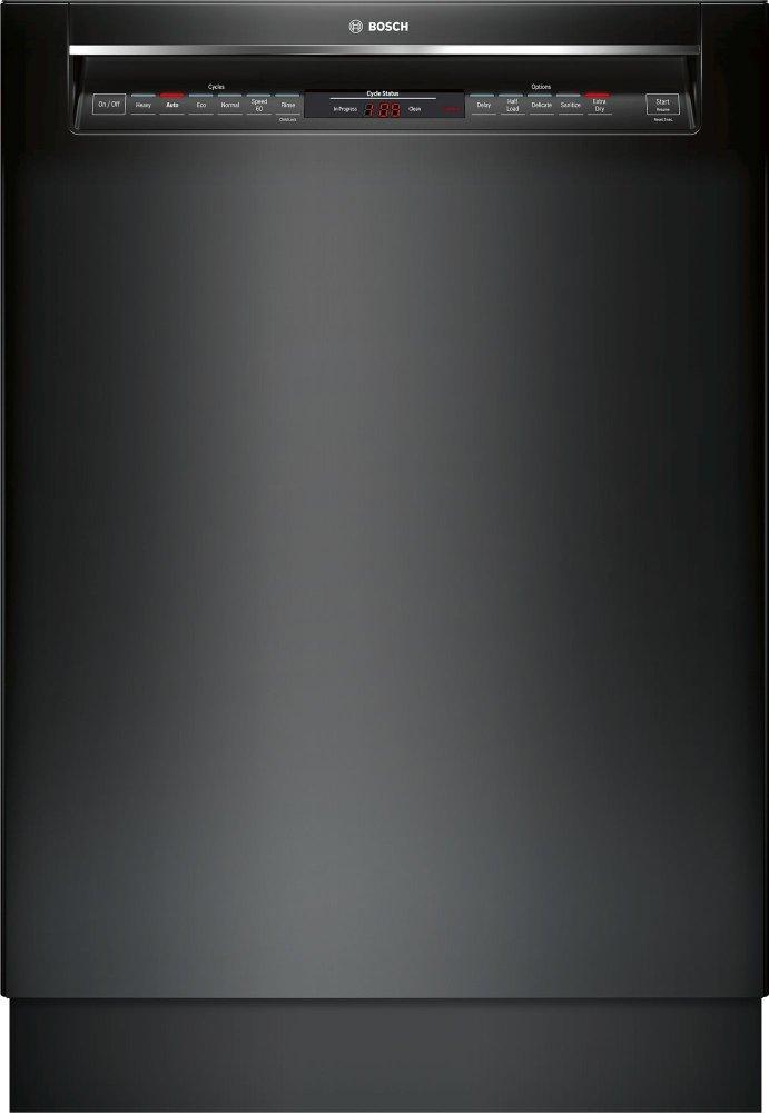 800 Rec Hndl, 6/5 cycles, 42 dBA, Flex 3rd Rck, UR glide, Touch Cntrls - BL  BLACK