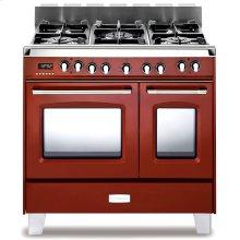 "Verona Classic 36"" Dual Fuel Double Oven Range"