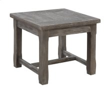 Emerald Home Paladin End Table Rustic Charcoal T3501