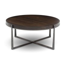 "Cooper 42"" Round Cocktail Table"