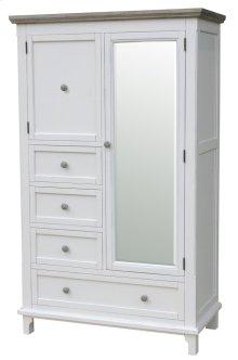 Chspk Mirror Armoire-wht/rw