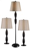 Ripley - 3 Pack - 2 Table Lamps, 1 Floor Lamp