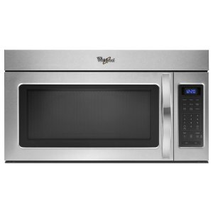 1.7 cu. ft. Over the Range Microwave with Hidden Vent - BLACK-ON-STAINLESS