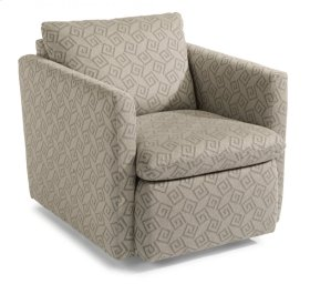 Kendall Fabric Swivel Chair