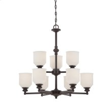 Melrose 9 Light Chandelier