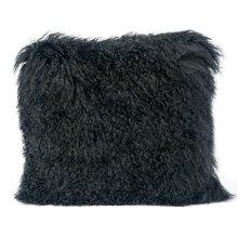 Tibetan Sheep Black Pillow