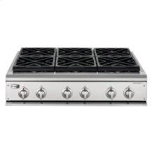 "GE Monogram® 36"" Professional Gas Cooktop with 6 Burners (Liquid Propane)"