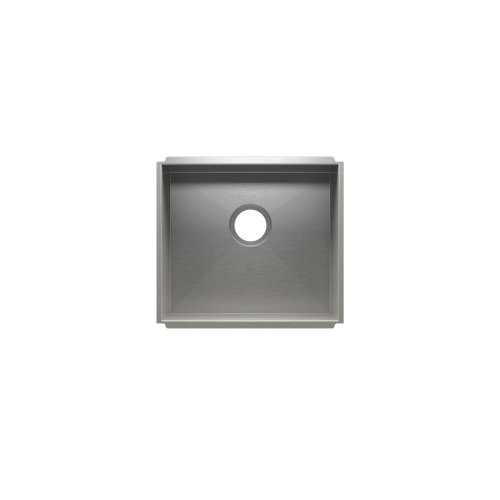 "UrbanEdge® 003647 - undermount stainless steel Kitchen sink , 18"" × 16"" × 10"""