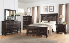 Sevilla King 5 PC Bedroom Suite