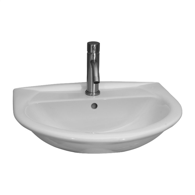 Barclay Hartford Pedestal Sink.4811wh In White By Barclay In New Milford Ct Karla 450 Wall Hung