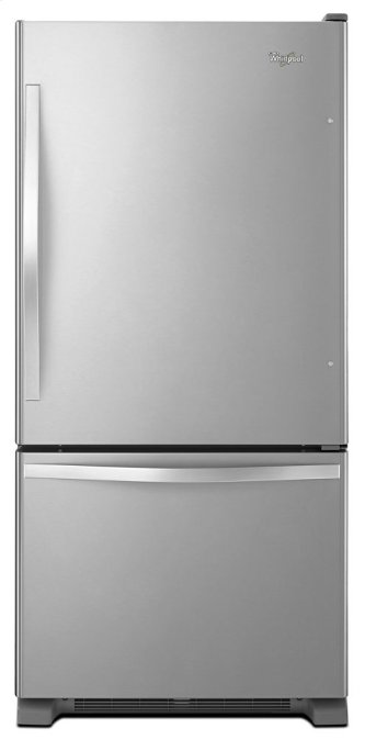 Whirlpool(R) 19 cu. ft. Bottom-Freezer Refrigerator with Freezer Drawer