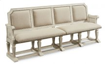 Arch Salvage Becket Dining Bench - Cirrus