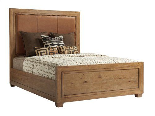 Antilles Upholstered Panel Bed California King