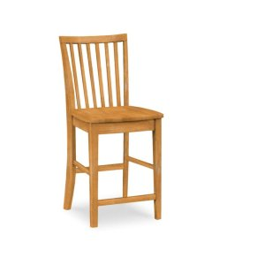 JOHN THOMAS FURNITURE24'' Mission Stool. 30''H stool also available (265-30B)