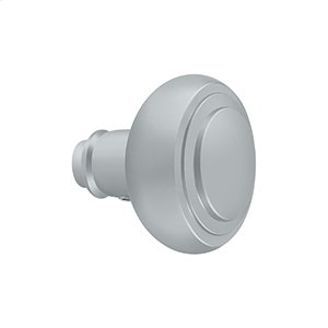 Accessory Knob for SDL688, Solid Brass - Brushed Chrome