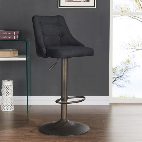Adyson Air Lift Stool, set of 2, in Black