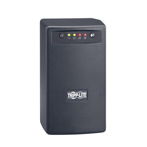TAA-Compliant SmartPro 120V 550VA 300W Line-Interactive UPS, AVR, Tower, USB, Surge-only Outlets