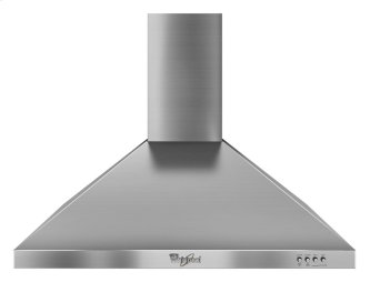 Whirlpool Gold(R) 30-inch Vented ENERGY STAR(R) Qualified 300-CFM Wall-Mount Canopy Hood