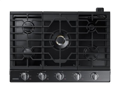 "30"" Gas Cooktop with 22K BTU True Dual Power Burner (2018) Product Image"
