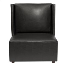Square Chair Atlantis Black