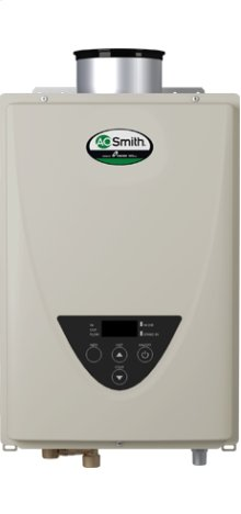 Tankless Water Heater Non-Condensing Concentric Vent Indoor 199,000 BTU Natural Gas/Propane