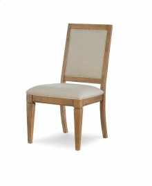 Upholstered Back Side Chair - Nutmeg
